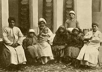 Family of Goudarz Mehraban