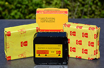 Kodak super8 film