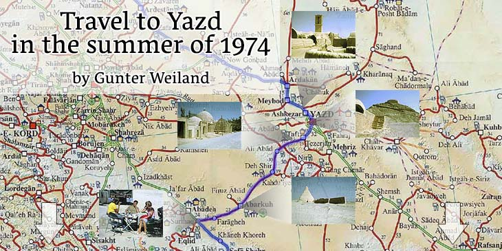 Travel to Yazd in the summer of 1974