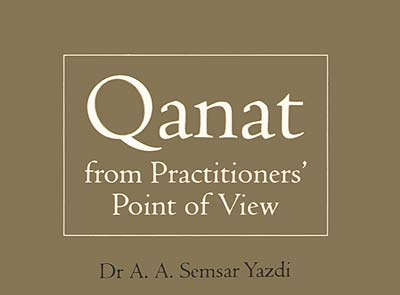 Qanat from practitionerd` point of view