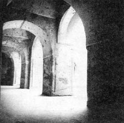 شبستان مسجد کهن فهرج