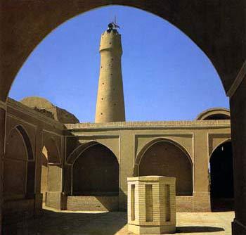 مناره مسجد جامع فهرج