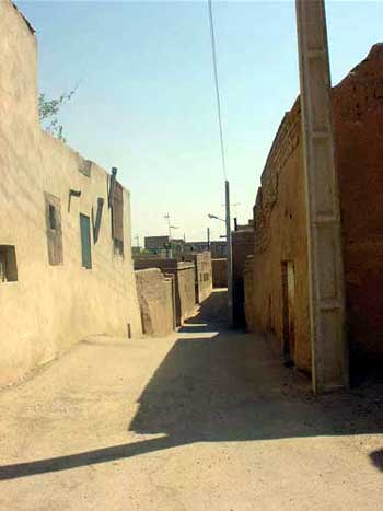 محله کهنو یا کهنویه یزد.