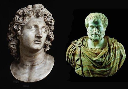 ارسطو و اسكندر