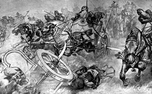 جنگ گوگه مله یا گوگمل یا اربیل