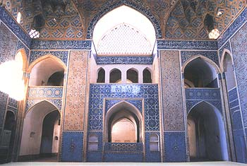 Gonbadkhaneh of Yazd jome mosque