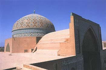 گنبد و ايوان مسجد جمعه يزد